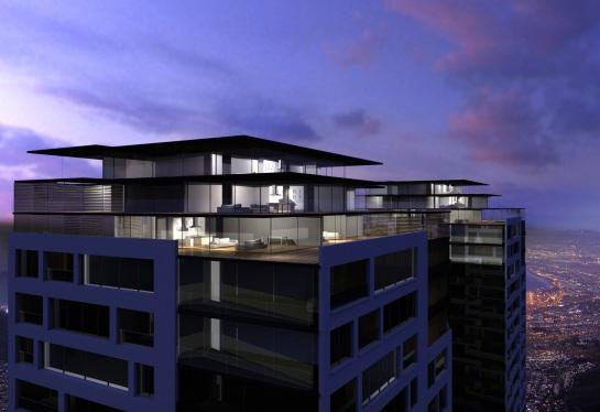 The Brand Foundation - luxury penthouse design
